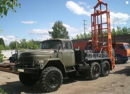 Буровая установка ЛБУ-50 для бурения скважин разного назначения